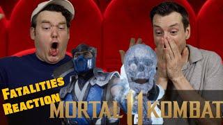 Mortal Kombat 11 - Fatalities Reaction