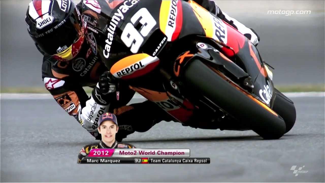 Marc Marquez 2012 Moto2™ World Champion - YouTube