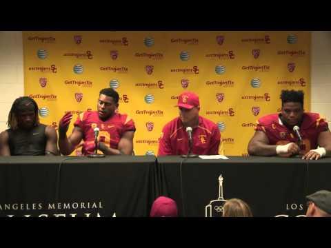 USC Football Post Game Presser Arizona