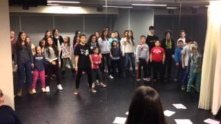 Performing Arts - 1er ensayo Peter Pan 2015