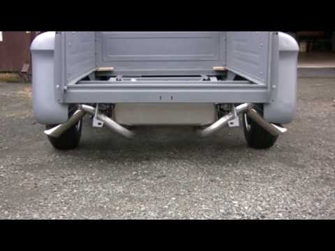 Chevy Semi Truck >> 57 Chevy Truck frame off restoration - first drive ...
