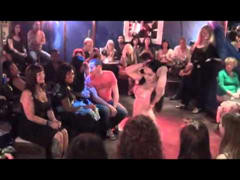 Iraqi Belly Dancer Akaysha  Performs At Planet Egypt - London video