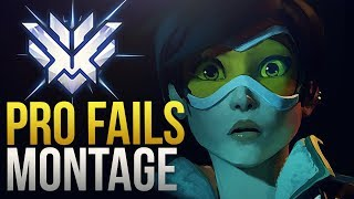 When Overwatch Pro Players Fail - Overwatch Montage