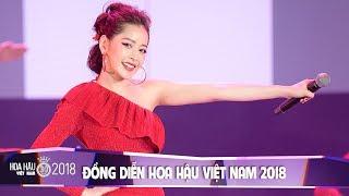 Chi Pu, Jang Mi, Cao Công Nghĩa tỏa sáng rực rỡ trong Chung Khảo Hoa Hậu Việt Nam 2018
