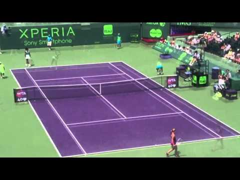 Sony Open Tennis 2013: Serena Williams against Dominika Cibulkova