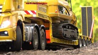 AMAZING RC TRUCK MODELS, CONSTRUCTION MACHINES, TRACTORS AT FAIR ERFURT p6