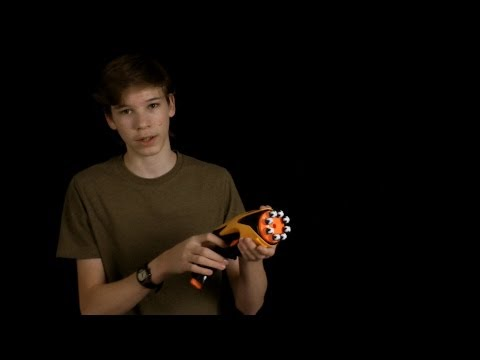 Nerf Dart Tag Snapfire 8 Review and Shooting