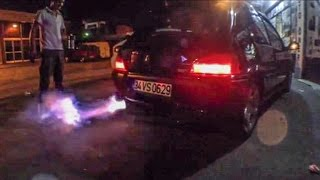 GREDDY Exhaust Flame Show - Peugeot 106