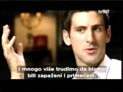 Interview With Novak Djokovic Now