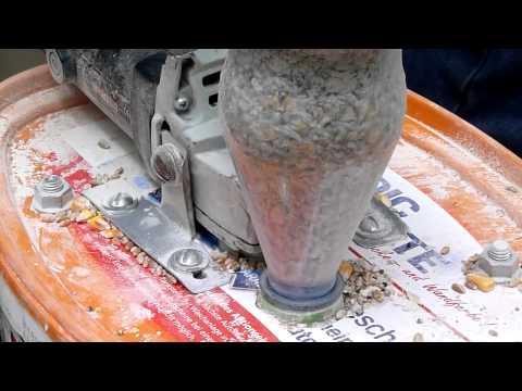Дробилка для зерна своими руками из болгарки