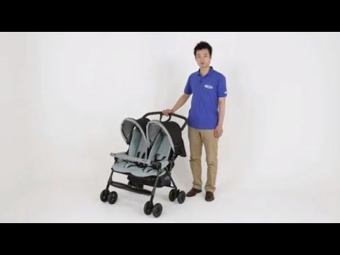 2人乗りベビーカー・デュオスポーツ紹介動画