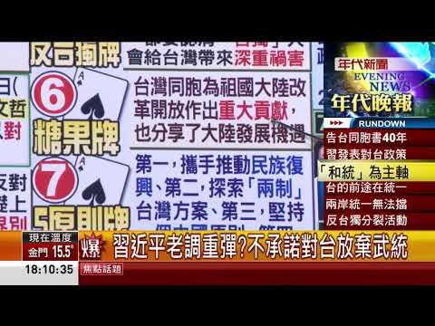 台灣-張雅琴挑戰新聞-20190102