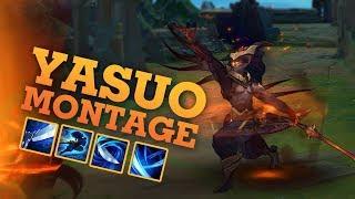 Yasuo Montage 2019 - Random Yasuo Plays ( League of legends )