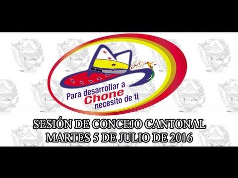Sesión de Concejo - 5 JUL 2016