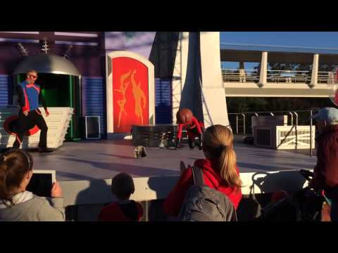 Elastigirl's Face Falls Off - Disney, Florida 16/1/2014 Music Videos
