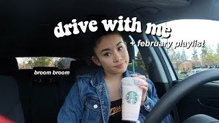 DRIVING ALONE FOR THE FIRST TIME || drive with me + current playlist!