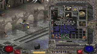 What are unique Light Gauntlets - Diablo 2
