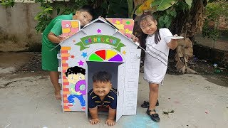 Trò Chơi Căn Nhà Tí Hon ❤ ChiChi ToysReview TV ❤ Đồ Chơi Trẻ Em Baby Little House Toys