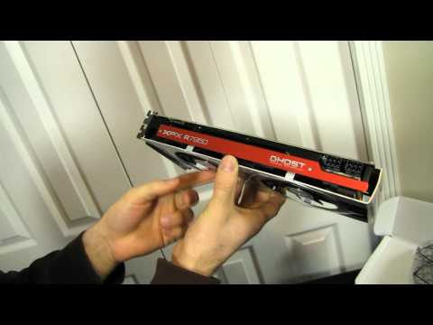XFX Radeon HD 7950 DD Double Dissipation Video Card Unboxing & First Look Linus Tech Tips