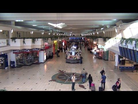A tour of Minneapolis-Saint Paul International Airport (MSP), Concourses A/B/C/D/E/F/G, Oct. 2013