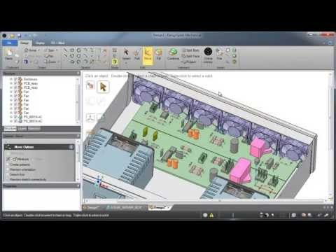 EDGE plm software 3D CAD Solid Edge ST10 CAE Femap