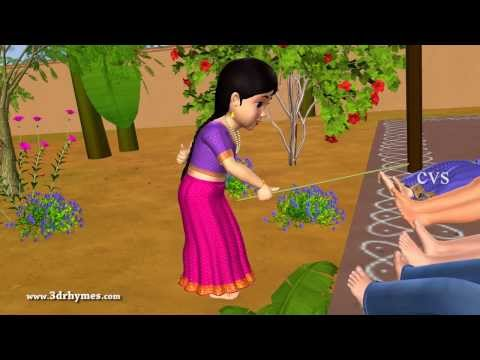 Kalla Gajja Kankalamma - 3d Animation Telugu Nursery Rhymes For Children video