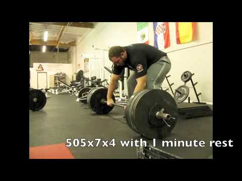 Juggernaut Training Systems-Chad Smith Deadlift Training, May 18th Image 1