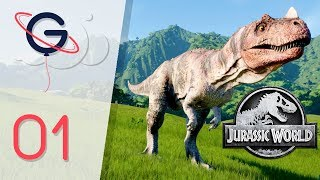 JURASSIC WORLD EVOLUTION FR #1 : Bienvenue sur l'île !