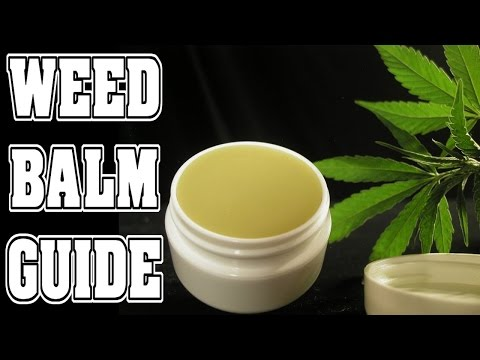 How to Make Cannabis Arthritis Balm (Organic Pain Cream)