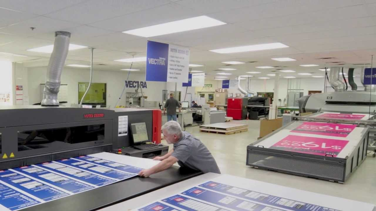 Wide Format Printing - YouTube