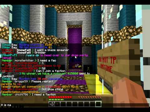 Minecraft Climax Craft 1.4.5 Episode 1 Cracked! 24/7 Raiding/Faction Server ( Intro To The Server).