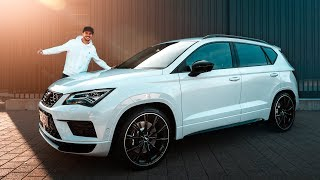 CUPRA Ateca ABT | 350PS & 440Nm Launch Control! | Daniel Abt