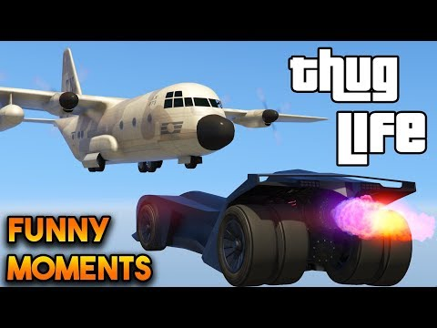 GTA 5 ONLINE : FUNNY MOMENTS AND THUG LIFE (WINS AND FAILS #5)