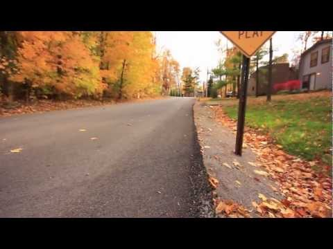 Fall Longboarding in Ohio