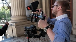BTS scrubs of DJI Ronin and Glidecam