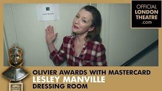 Inside the dressing room of Lesley Manville