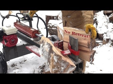 BEST Log Splitter for Home   Timberwolf TW P1