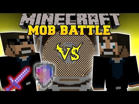 SSUNDEE VS DERP SSUNDEE - Minecraft Mod Battle - Mob Battles - Team Crafted Mods