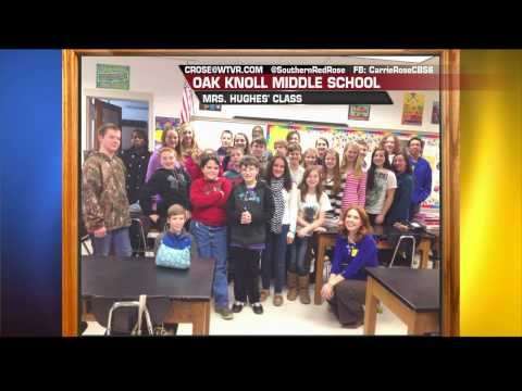 Carrie in your Class: Oak Knoll Middle School, Mrs. Hughes' Class
