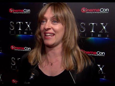 Zara Hayes Writer And Director Of POMS Ft Diane Keaton Alisha Boe - STX Interview -CinemaCon 2019