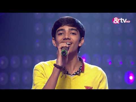 Nirvesh Dave - Main rang Sharabaton ka | The Blind Auditions | The Voice India 2