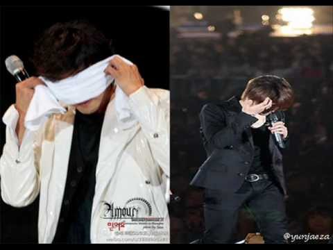 yunjae cry at tokyo dome