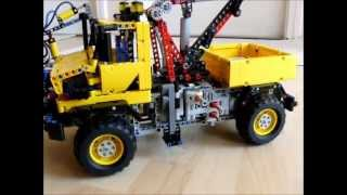 Lego Technic Unimog Prototypes (replica) by dokludi