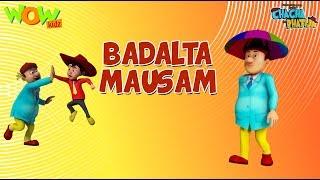 Download Badalta Mausam  - Chacha Bhatija- 3D Animation Cartoon for Kids - As seen on Hungama TV 3Gp Mp4