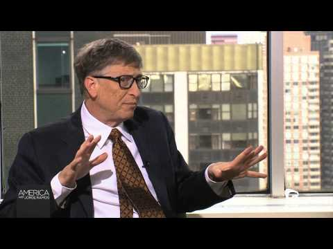 Jorge Ramos interviews Bill Gates (January, 2014)