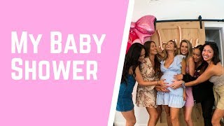 My Baby Shower!