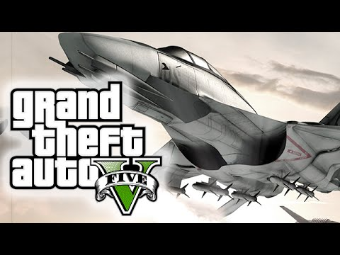 GTA 5 INSANE JET TAKEDOWNS, STUNTS AND EPICNESS! (GTA 5 Jet Montage!)