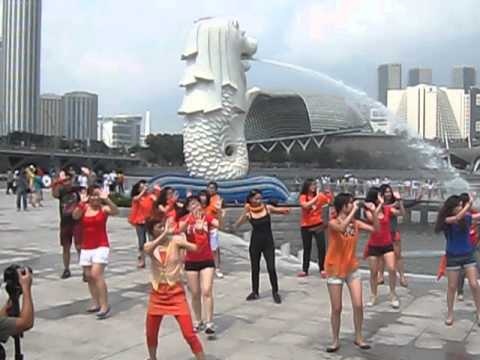World Kindness Day Life Vest Inside - Flashmob Dance  Singapore video