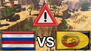 An INCREDIBLE battle between Aizamk and LordRaphael! [Age of Empires 3]