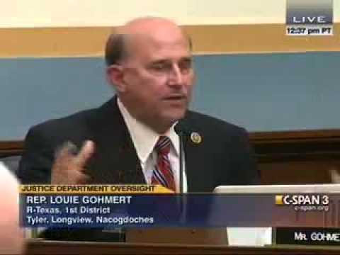 Gohmert Grills Holder on FBI Probe of Boston Bombers